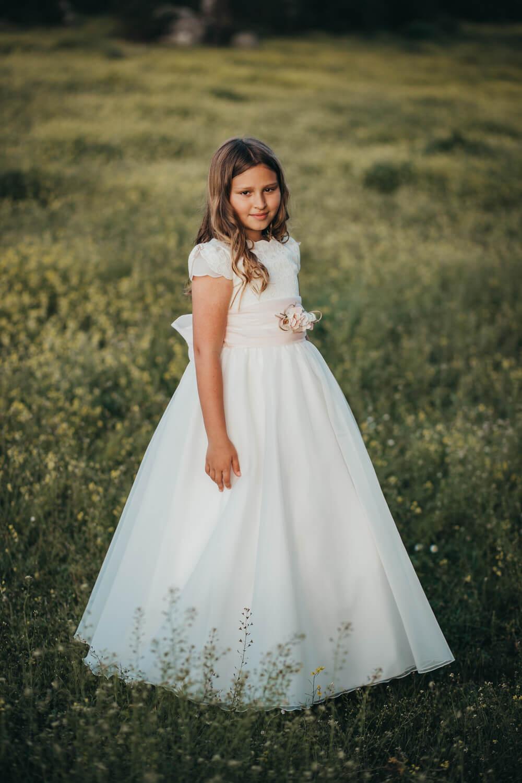 Sesiones fotográficas de comunión para niñas