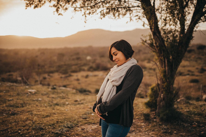 fotógrafo de embarazadas en los molinos